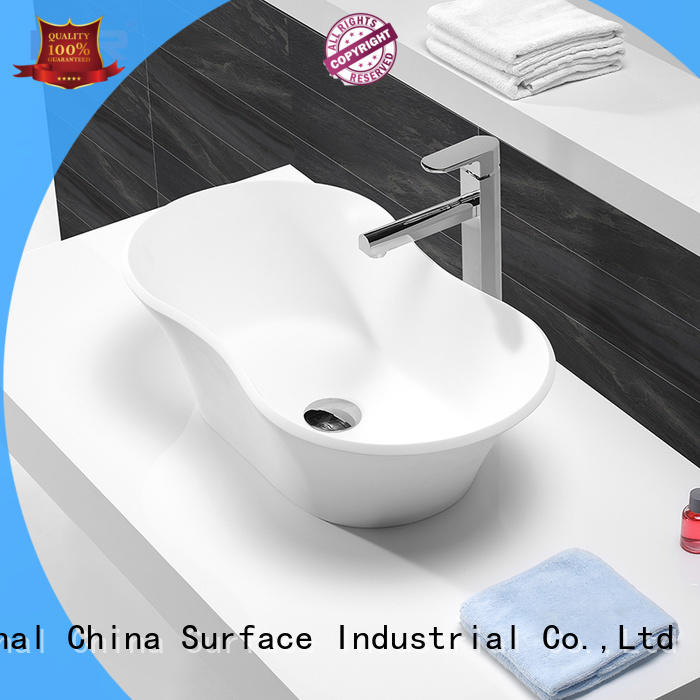 KingKonree pure small countertop basin customized for room