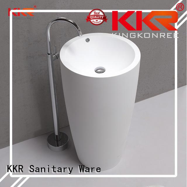 diamond fancy bathroom free standing basins acrylic KingKonree company