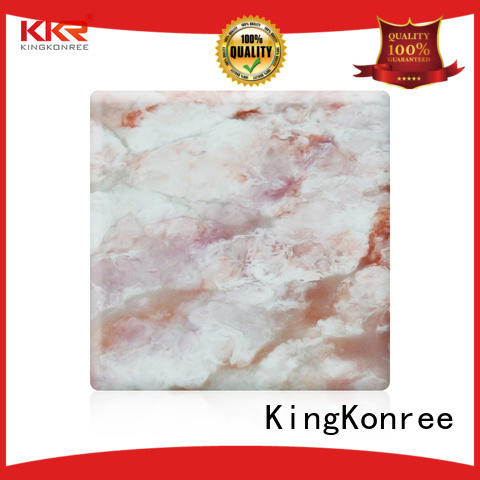 acrylic solid surface sheet prices for room KingKonree