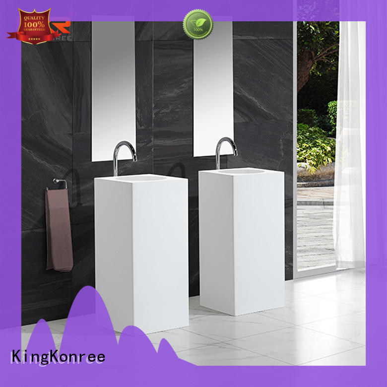 KingKonree freestanding bathroom basin manufacturer for home