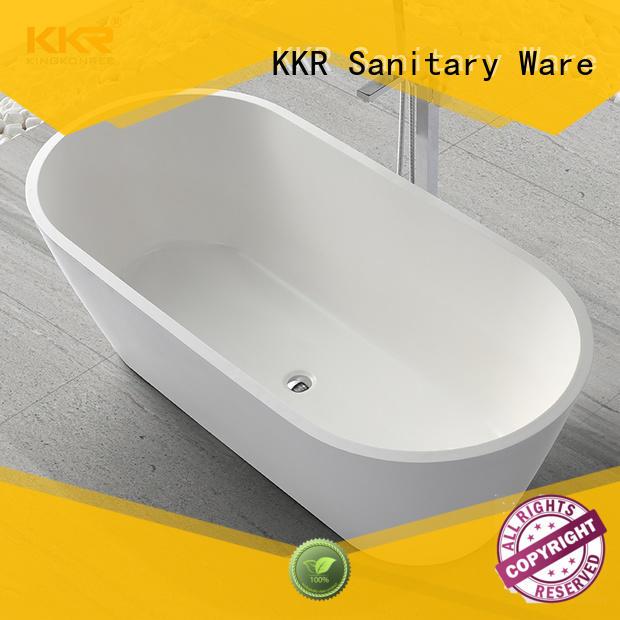 rectangular freestanding tub KingKonree