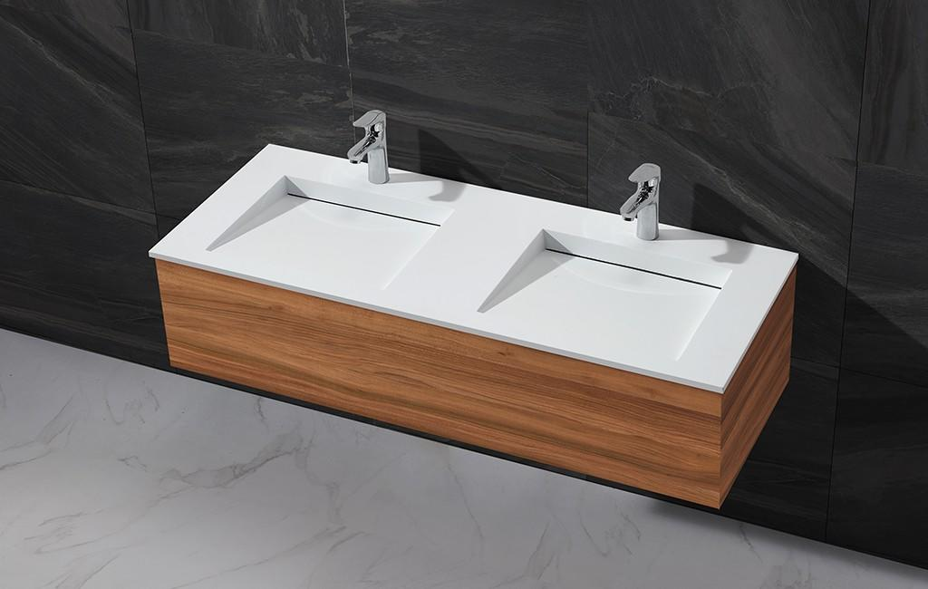 KingKonree wooden cabinet basin price for toilet-1