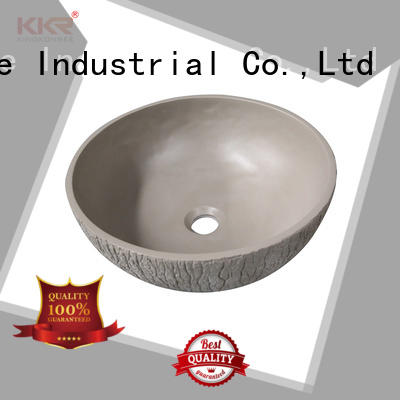 KingKonree elegant small countertop basin at discount for hotel