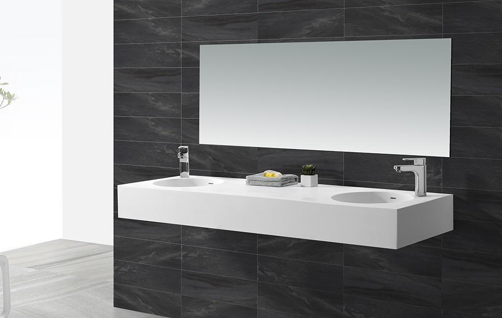 KingKonree wall mounted wash basins design for hotel-1
