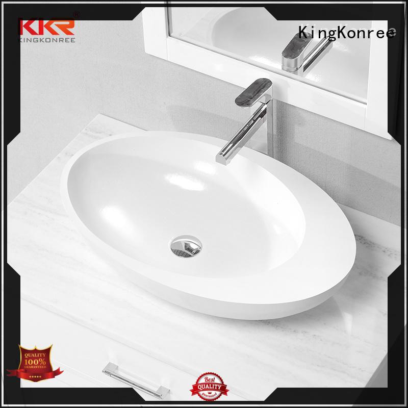 KingKonree black top mount bathroom sink manufacturer for home