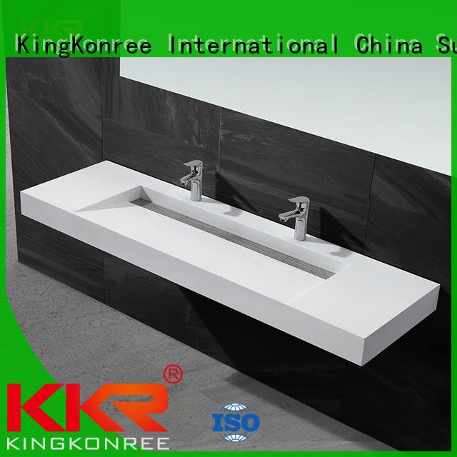 KingKonree square toilet wash basin design for hotel