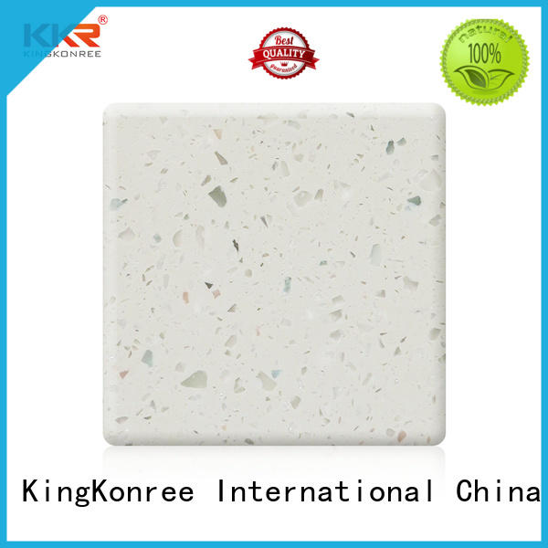 KingKonree artificial acrylic solid surface sheets suppliers customized for restaurant