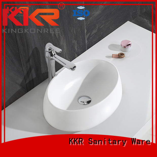 above pure square counter KingKonree Brand above counter basins supplier