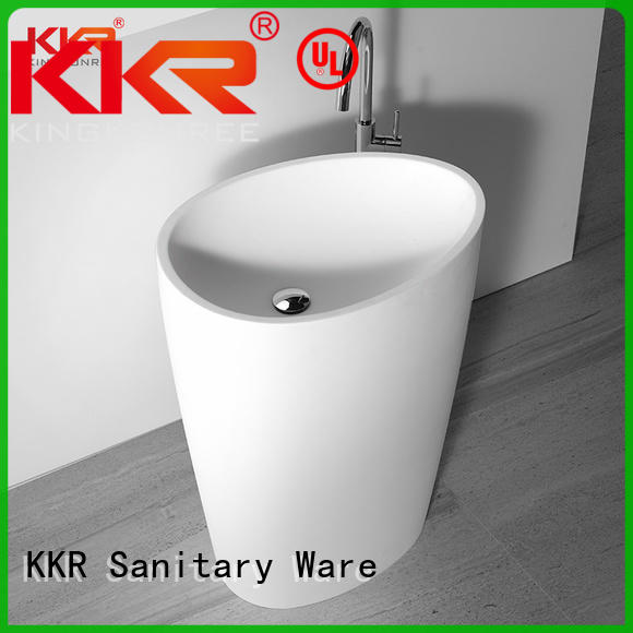 KingKonree stand alone bathroom sink manufacturer for home
