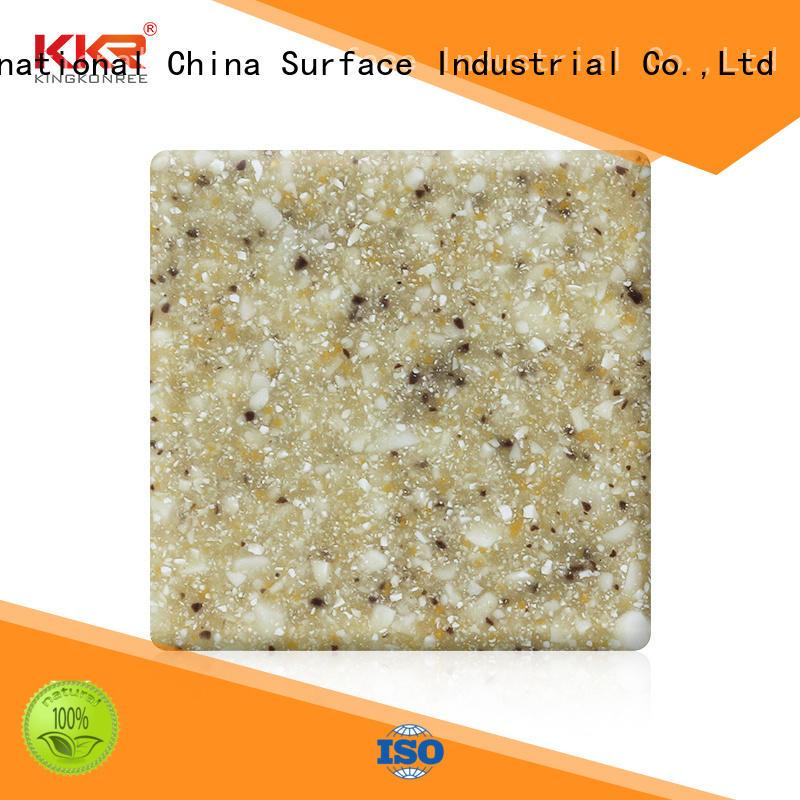 KingKonree soild acrylic solid surface countertops supplier for hotel