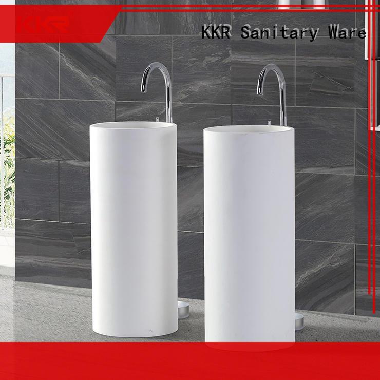 KingKonree pan shape free standing wash basin design for home