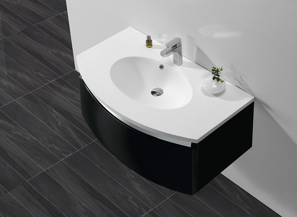 black bathroom sanitary ware factory price fot bathtub-1