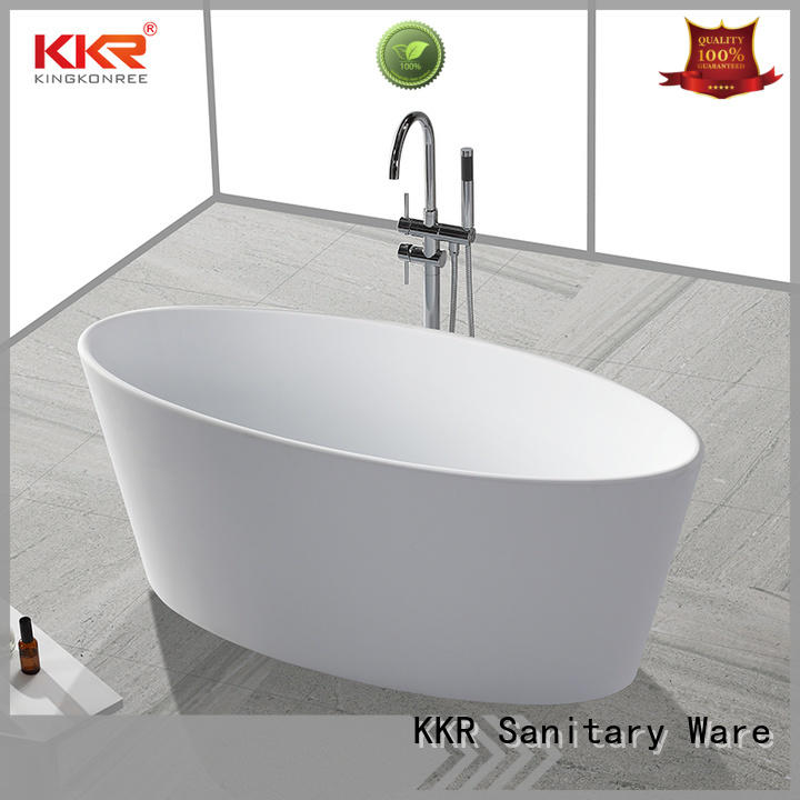 bulk production best acrylic freestanding bathtubs OEM for family decoration KingKonree