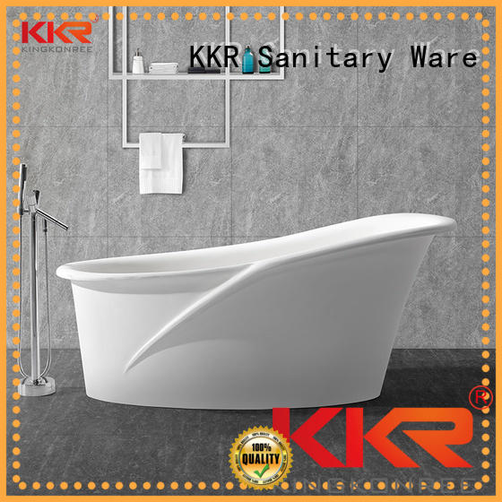 Solid Surface Freestanding Bathtub kkr royal solid surface bathtub manufacture