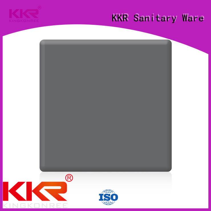 KingKonree pure discount solid surface sheets for restaurant
