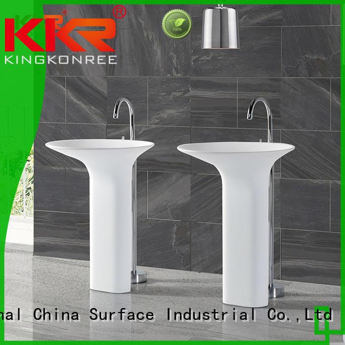 free standing hand basin customized for bathroom KingKonree