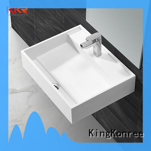 solid surface basin for wholesale for bathroom
