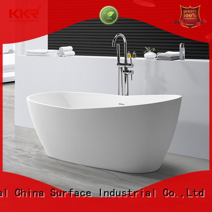 modern bathroom tub resin for hotel KingKonree