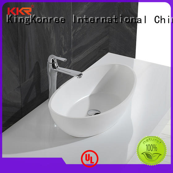 wash top mount bathroom sink supplier for home