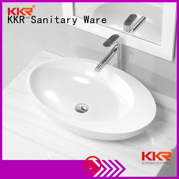 KingKonree Brand wash solid above counter basins square factory