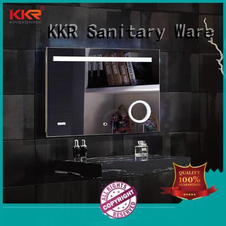 sanitary ware unusual mirrors manufacturer for toilet KingKonree