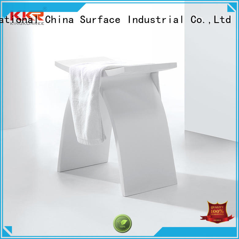 stainless steel waterproof shower stool supplier for hotel