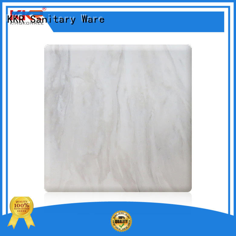 artificial solid surface sheets supplier for indoors