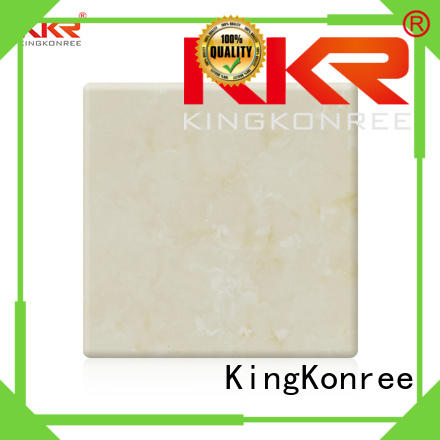 pattern solid texture artificial KingKonree Brand solid surface sheets supplier