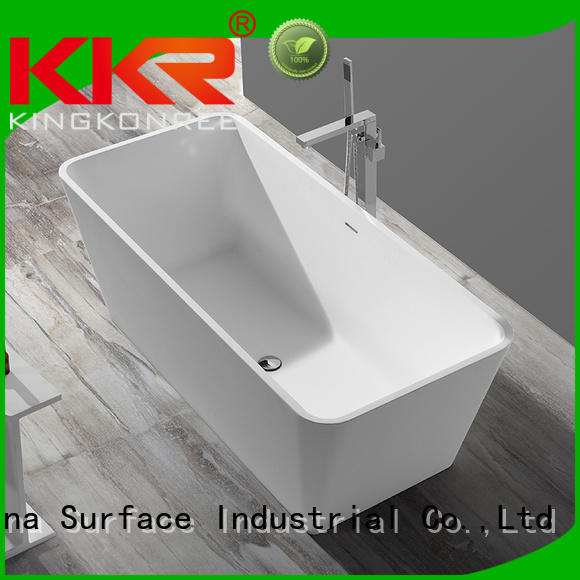 Solid Surface Freestanding Bathtub artificial tub solid surface bathtub manufacture