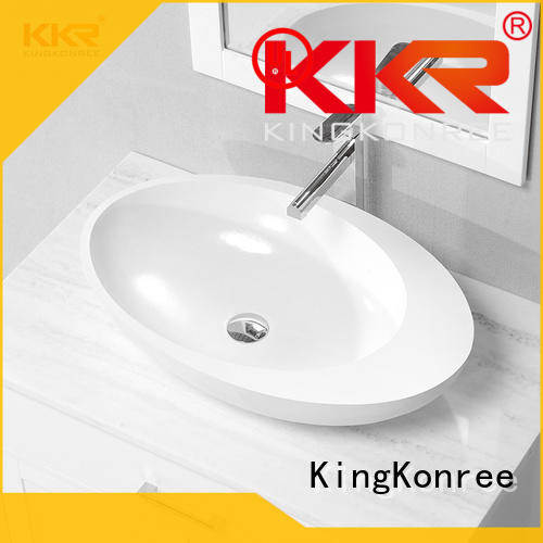 KingKonree black square above counter bathroom sink manufacturer for hotel