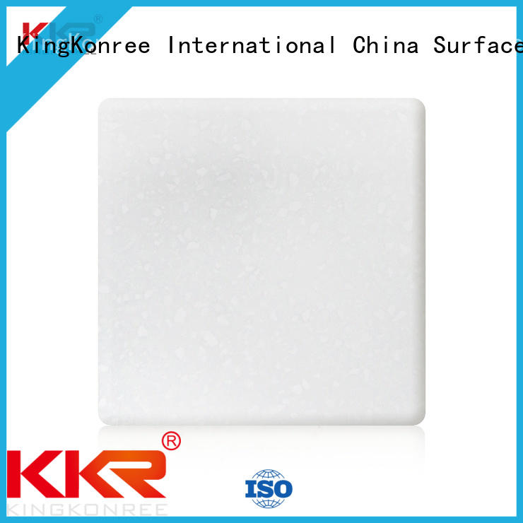 resin solid surface sheets customized for restaurant