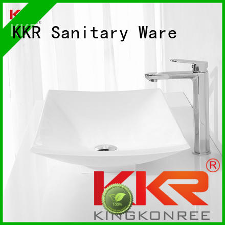 oval above counter basin white oval Bulk Buy pure KingKonree