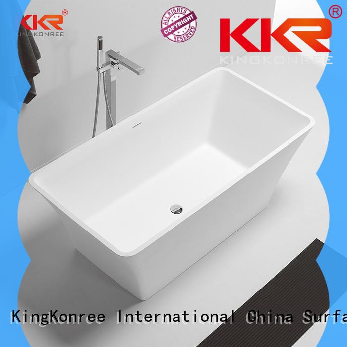 KingKonree high-quality discount freestanding bathtubs black