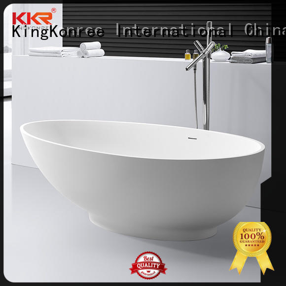 KingKonree matt free standing bath tubs for sale ODM for shower room