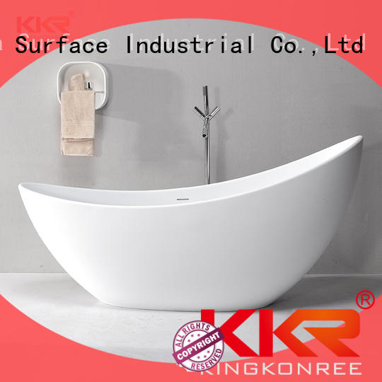 KingKonree acrylic clawfoot bathtub ODM for family decoration
