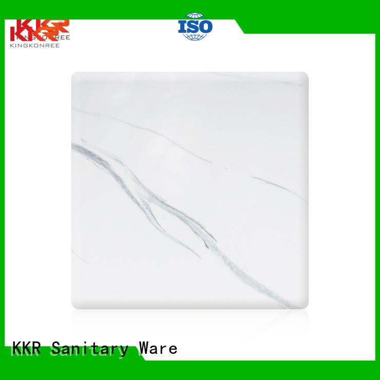 Custom surface solid surface sheets solid KingKonree