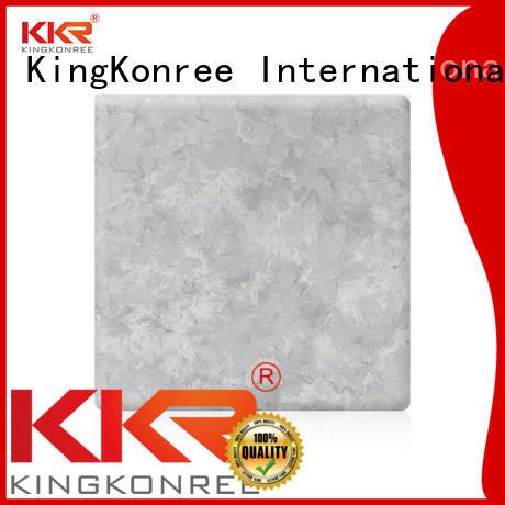 Hot surface solid surface sheets texture marble KingKonree Brand