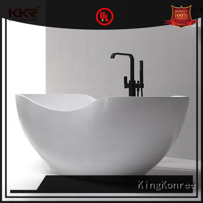 finish best acrylic bathtub manufacturers custom KingKonree