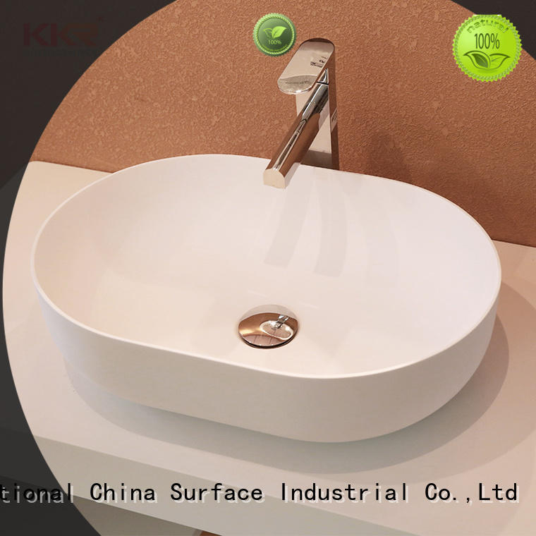 marble small countertop basin manufacturer for room