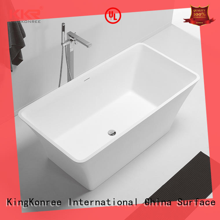 quality acrylic freestanding tub glossy custom for family decoration