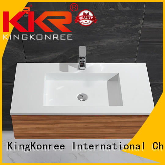 basin with cabinet price luxurious KingKonree Brand cloakroom basin with cabine