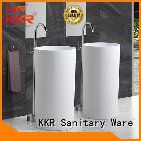 KingKonree Brand bathroom surface free freestanding basin