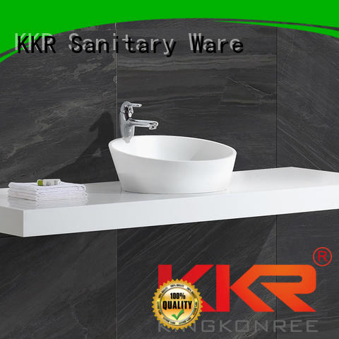 artificial square shape above counter basins KingKonree Brand