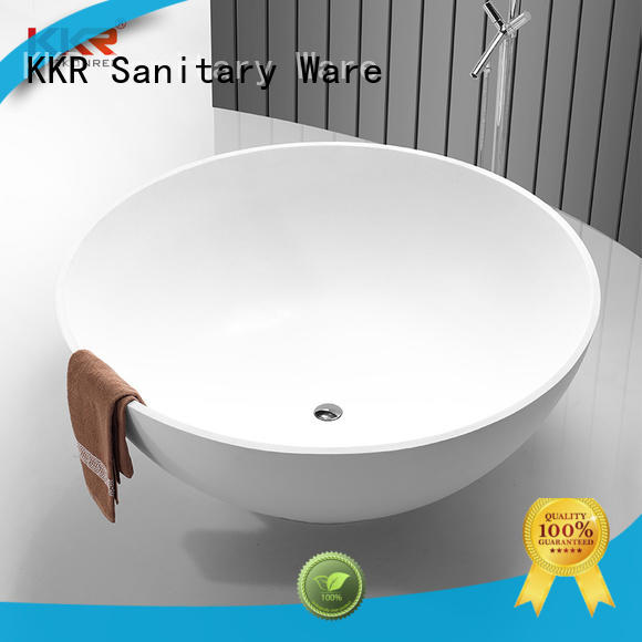 finish solid surface freestanding tubs custom for hotel