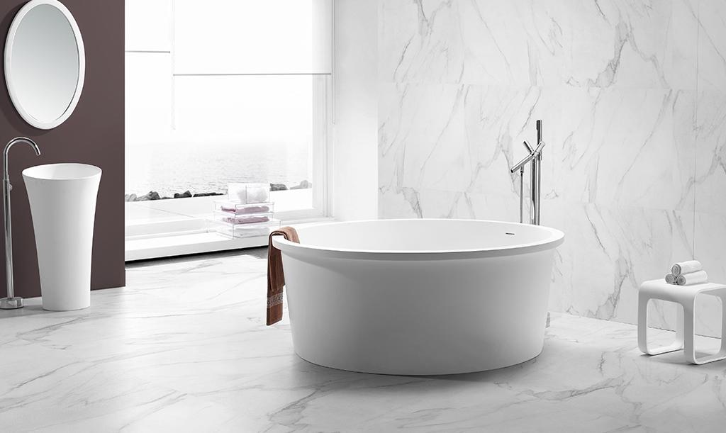 hot-sale large freestanding bath free design for family decoration-1