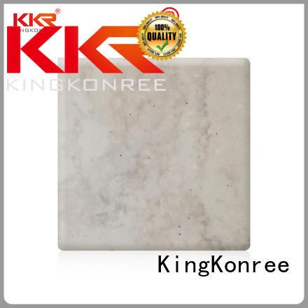 sheets artificial texture surface KingKonree Brand solid surface sheets supplier