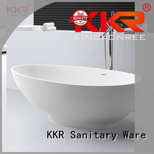 marble modern soaking tub ODM for hotel