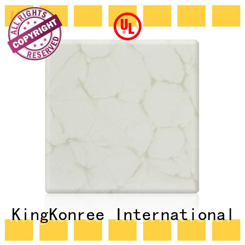 KingKonree translucent countertops OEM for motel