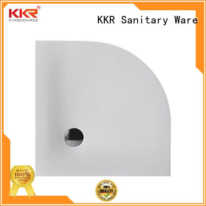 black large shower trays customized for home KingKonree