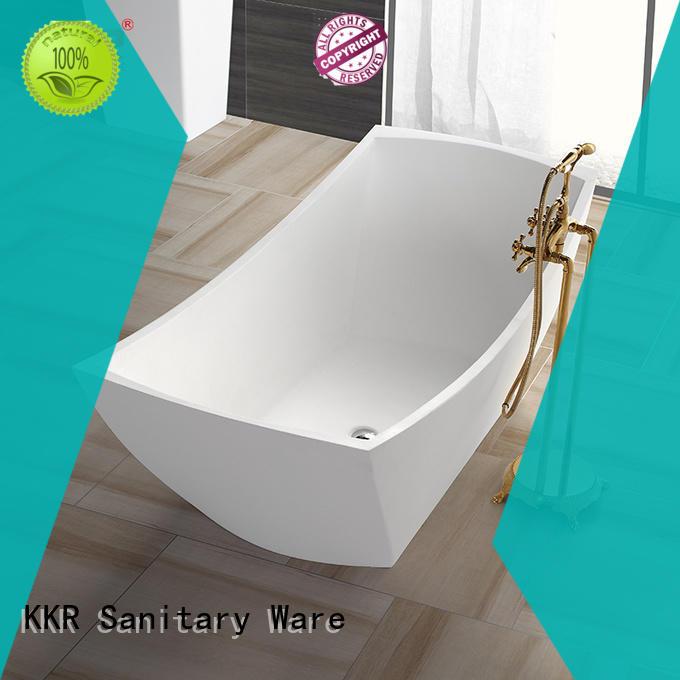 KingKonree white contemporary freestanding bath free design for bathroom